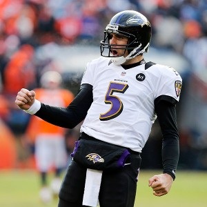 Joe Flacco and the Ravens battle Houston in a possible AFC playoff preview.