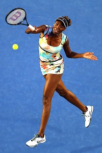 For Venus Williams, every dress has a season, including her own design of painterly watercolor florals.