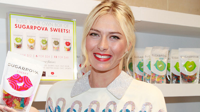Things were much sweeter for Maria Sharapova a year ago in New York, when she was launching Sugarpova and advancing to the semifinals of the US Open.