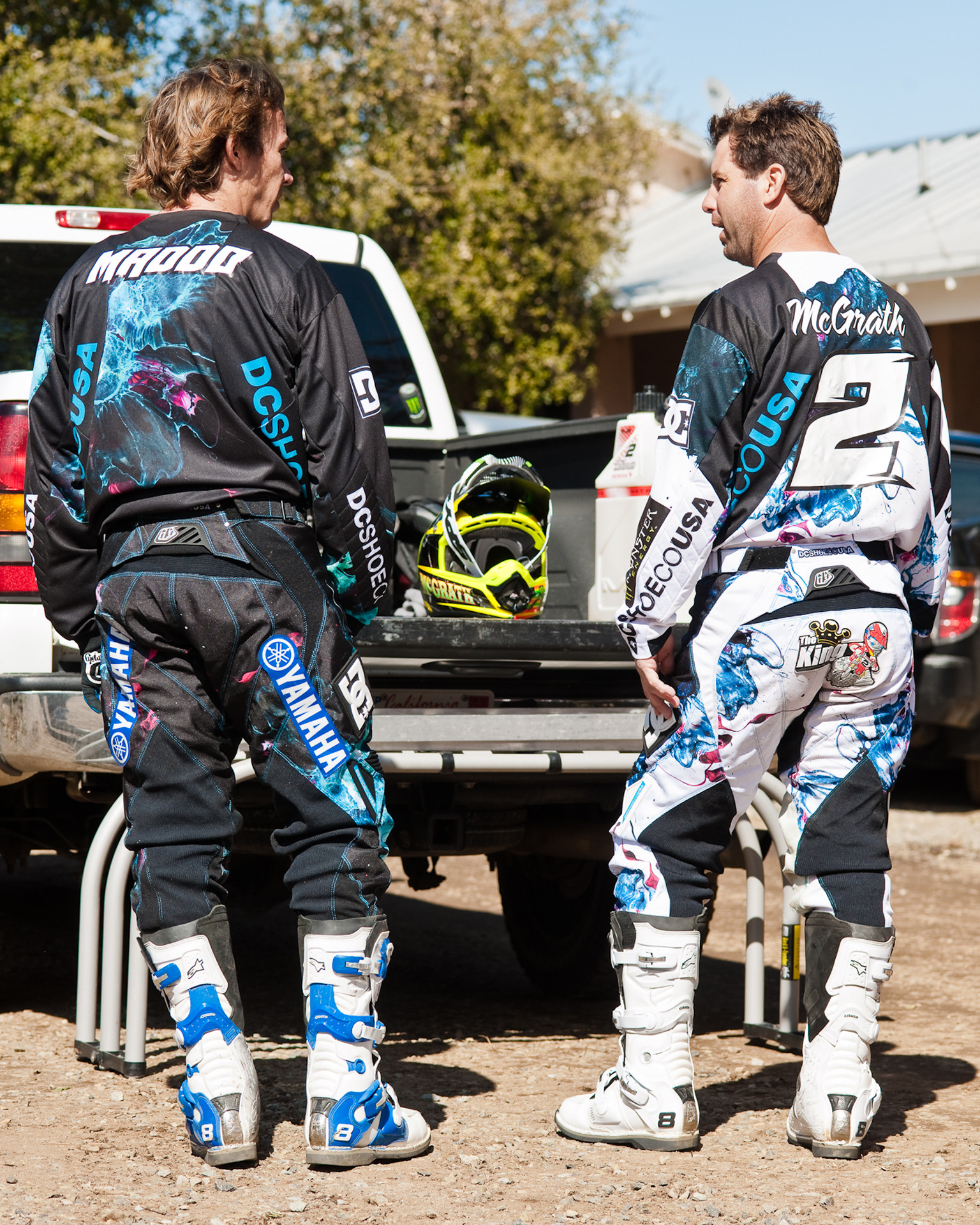 Robbie Maddison, Jeremy McGrath