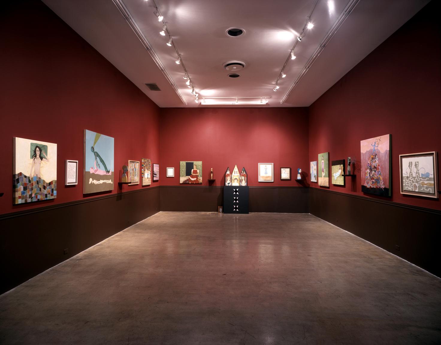 The Fogged Mirror, gallery installation at Roberts & Tilton