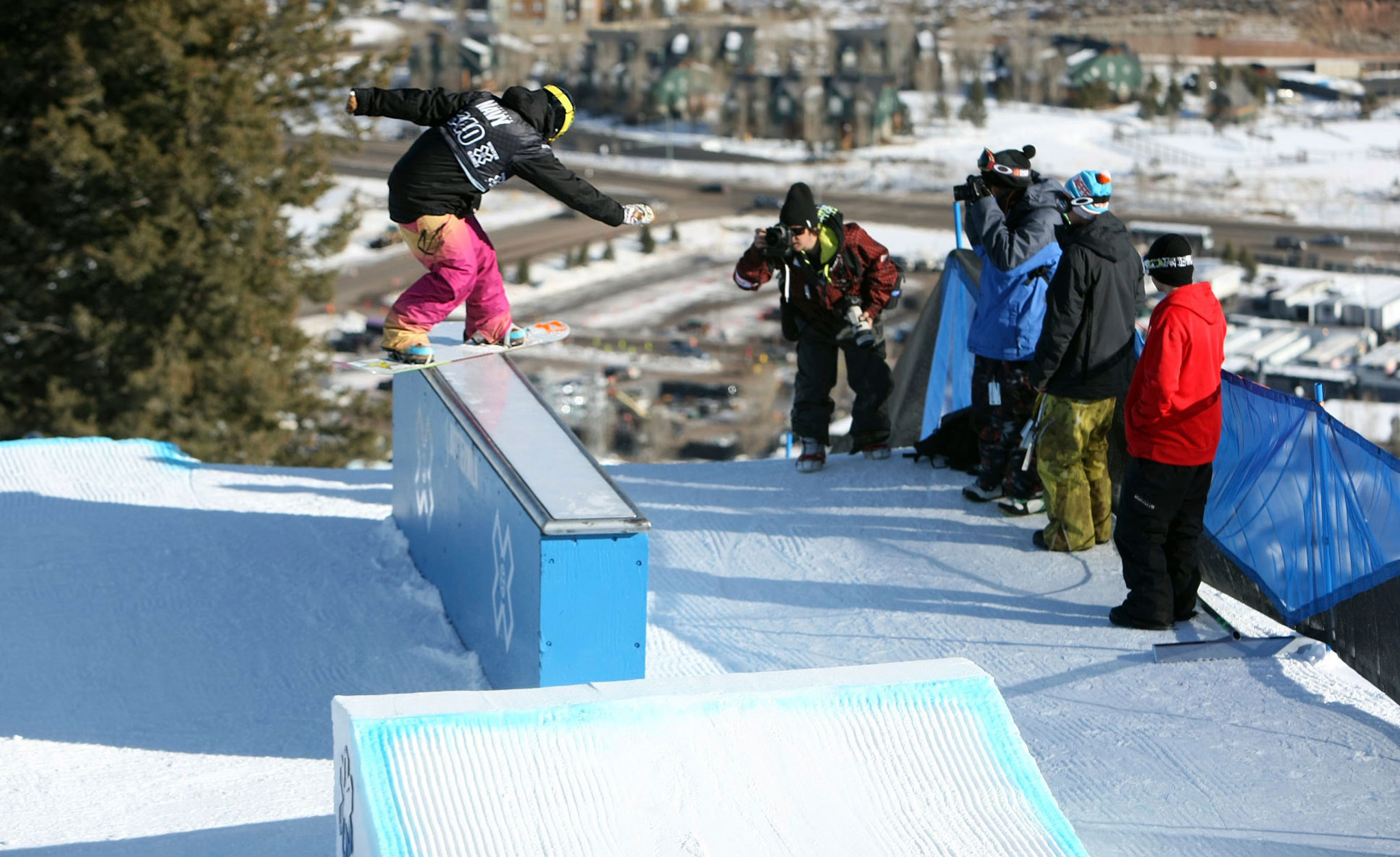 Hana Beaman, a three-time X Games Snowboard Slopestyle silver medalist, has returned to competition for a chance to qualify for the 2014 Sochi Olympics.