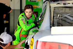 Danica Patrick's average finish in Cup races last year was 28.3; she must improve in all areas if she's to better that.