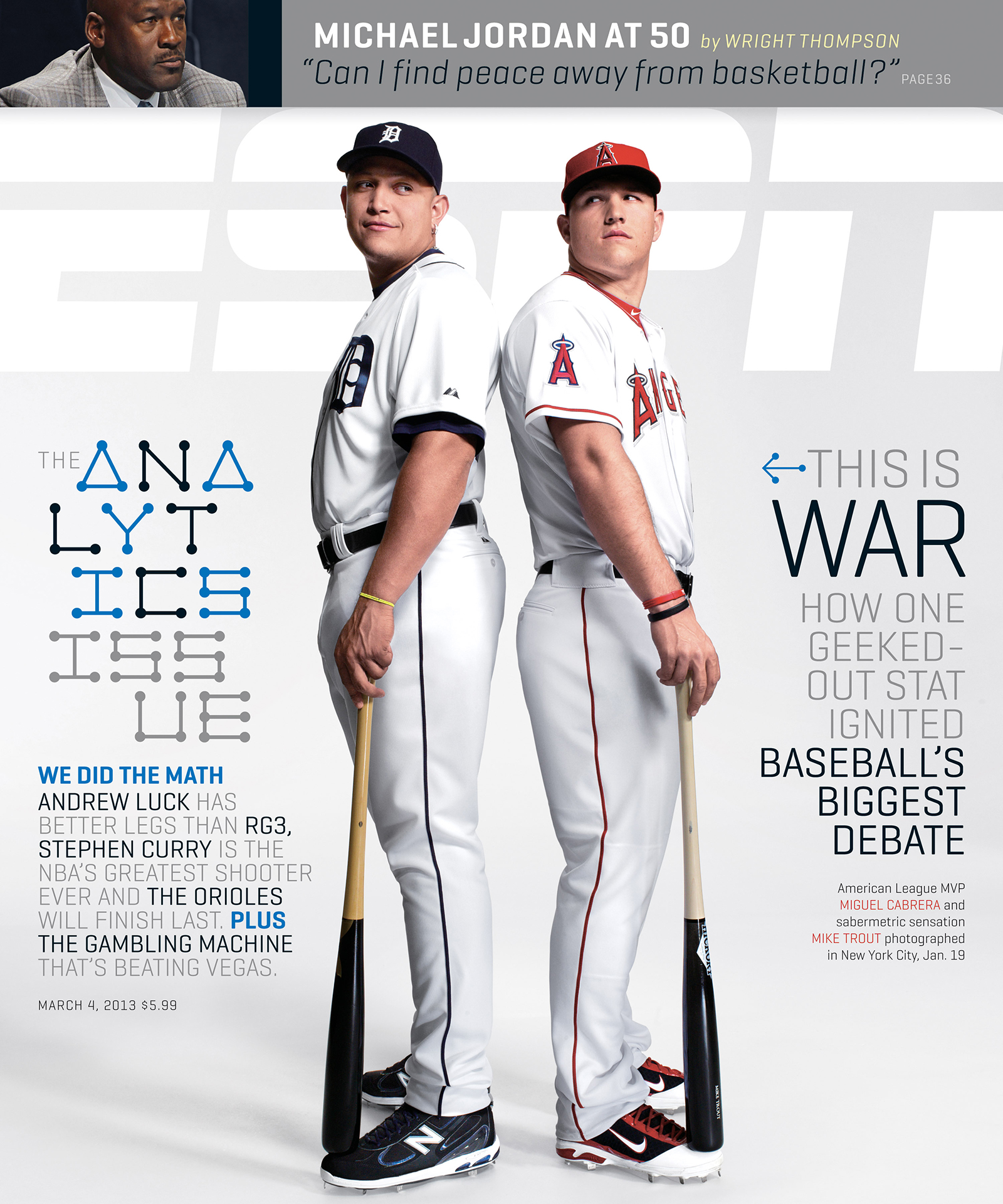 ESPN The Magazine's Analytics Issue