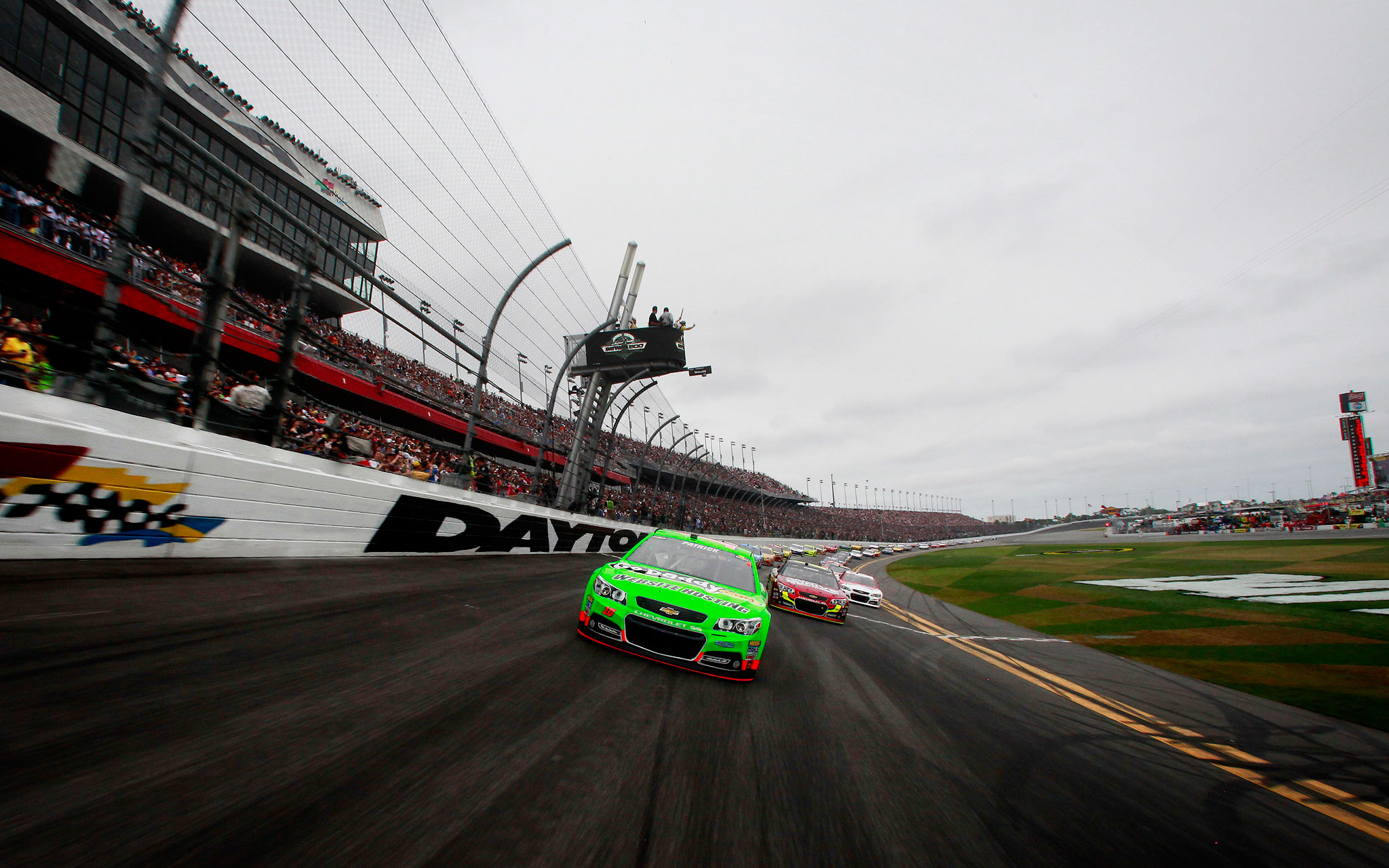 Danica Patrick finishes strong