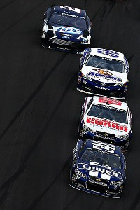 Jimmie Johnson didn't look like the class of the field all day, but he certainly did when it counted.