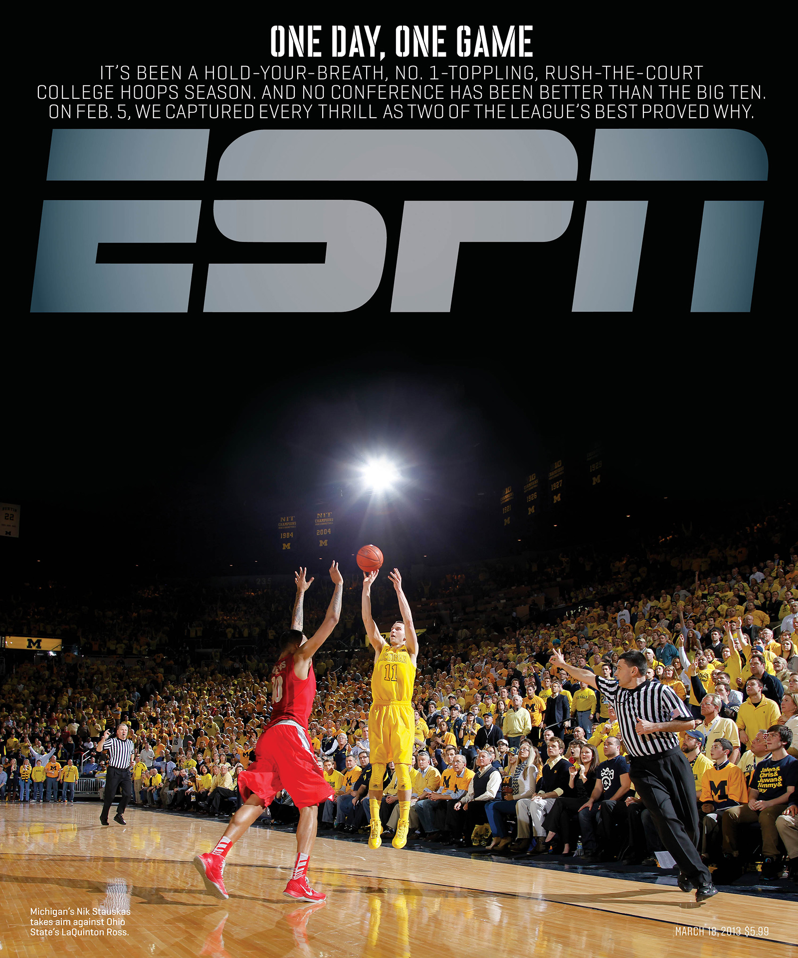 ESPN The Magazine's One Day, One Game Issue