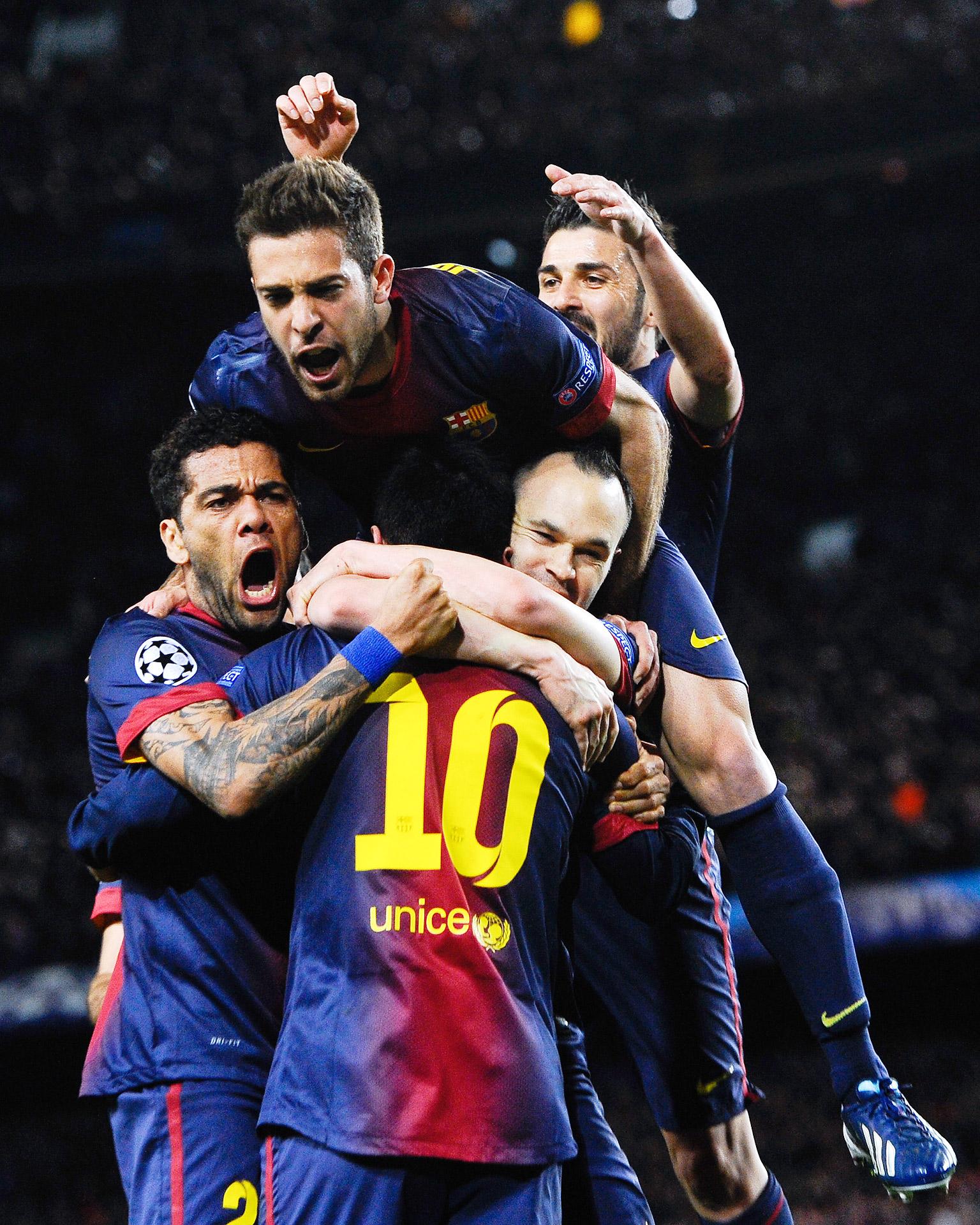 Messi Celebration