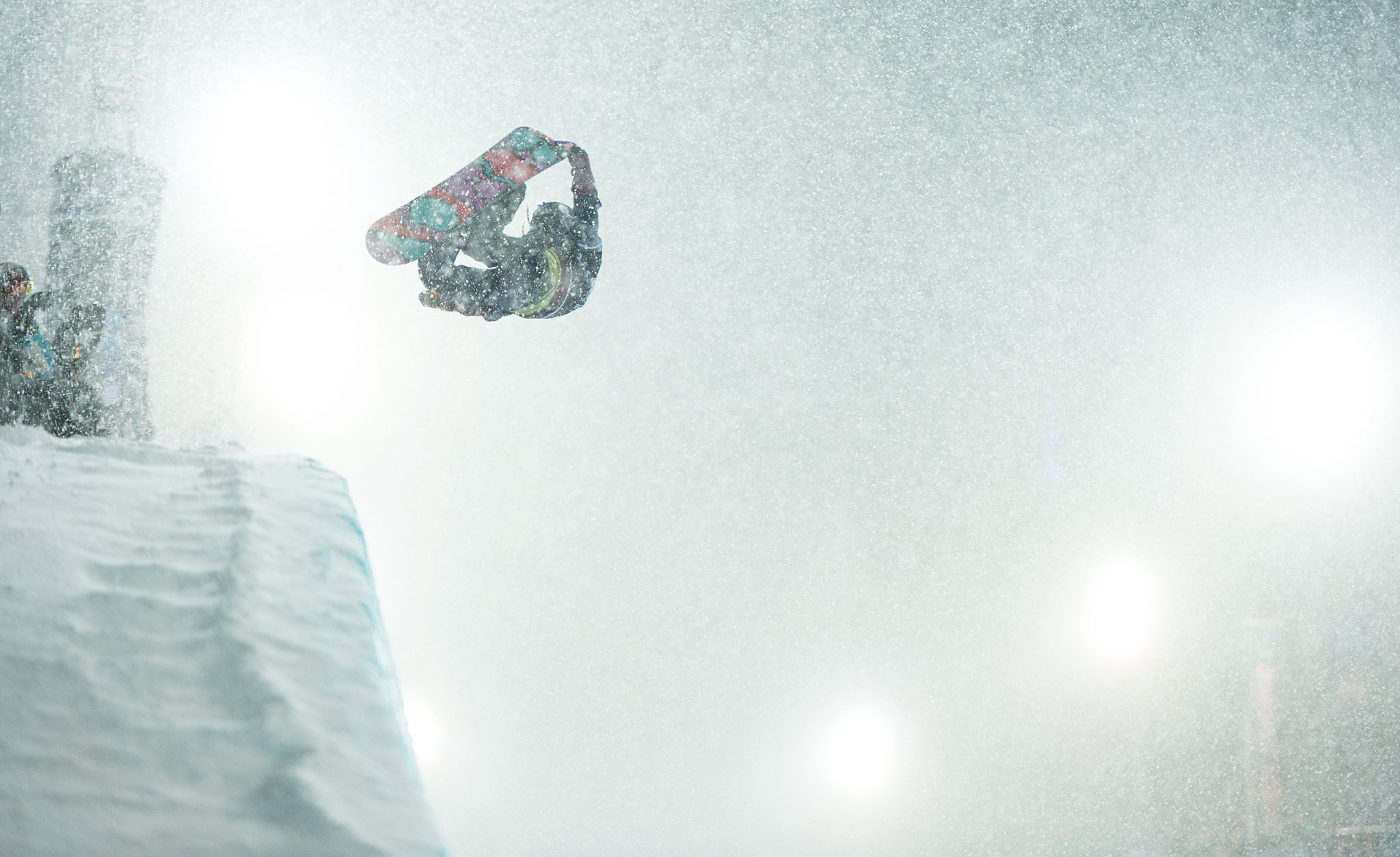 Weather wreaked a little havoc on the Women's Snowboard SuperPipe finals to say the least, but the women still managed to put on a great show.