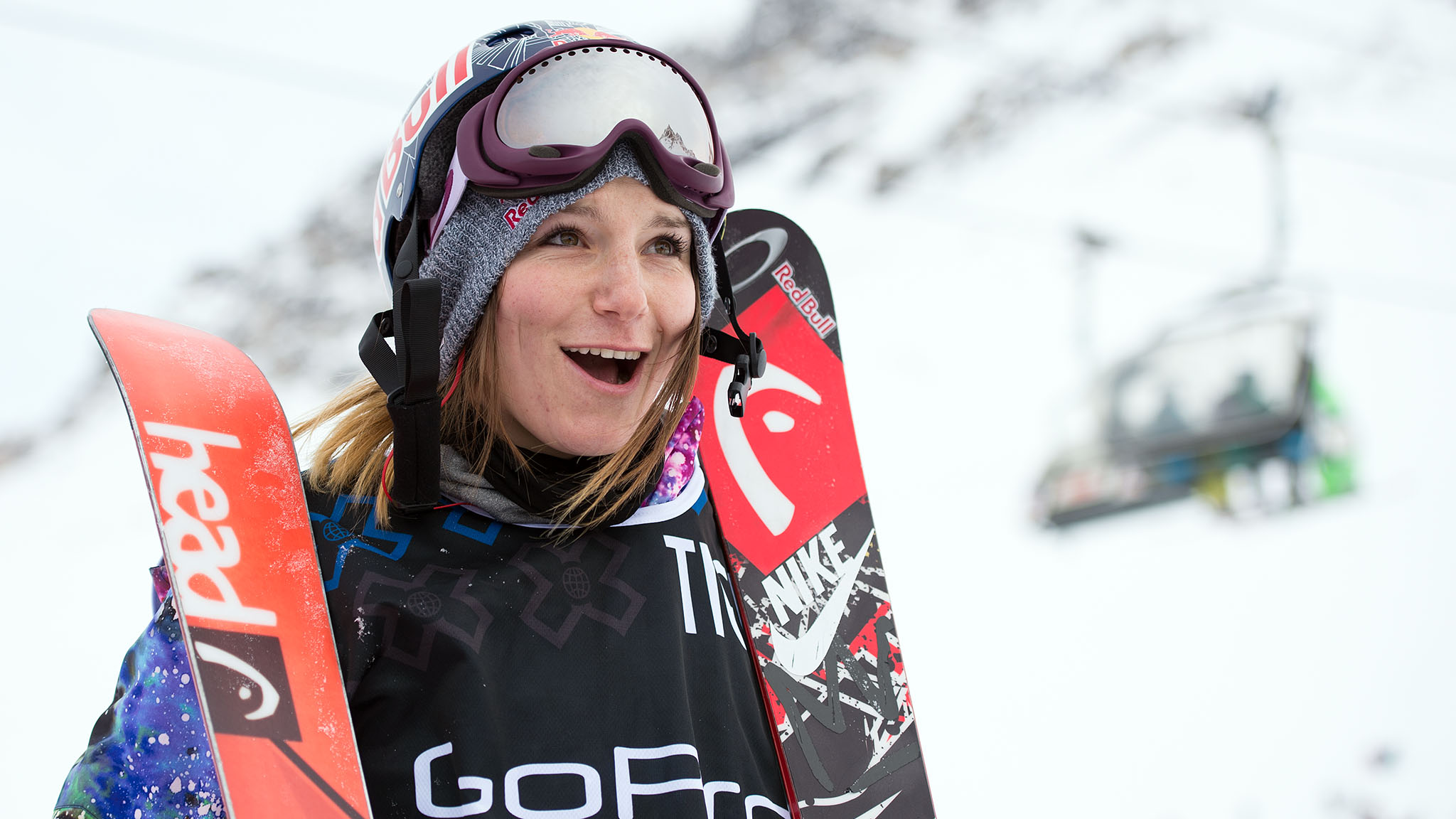 Once again Kaya Turski topped the podium in Women's Ski Slopestyle, earning her fourth consecutive gold medal in Tignes.