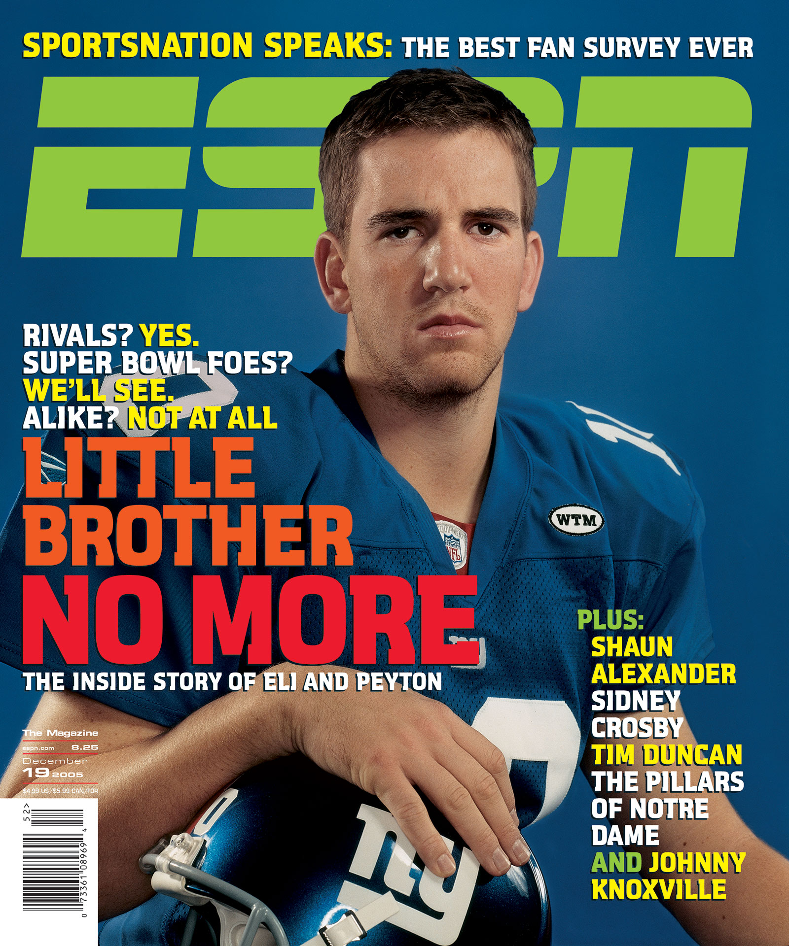 ESPN The Magazine 2005 Covers