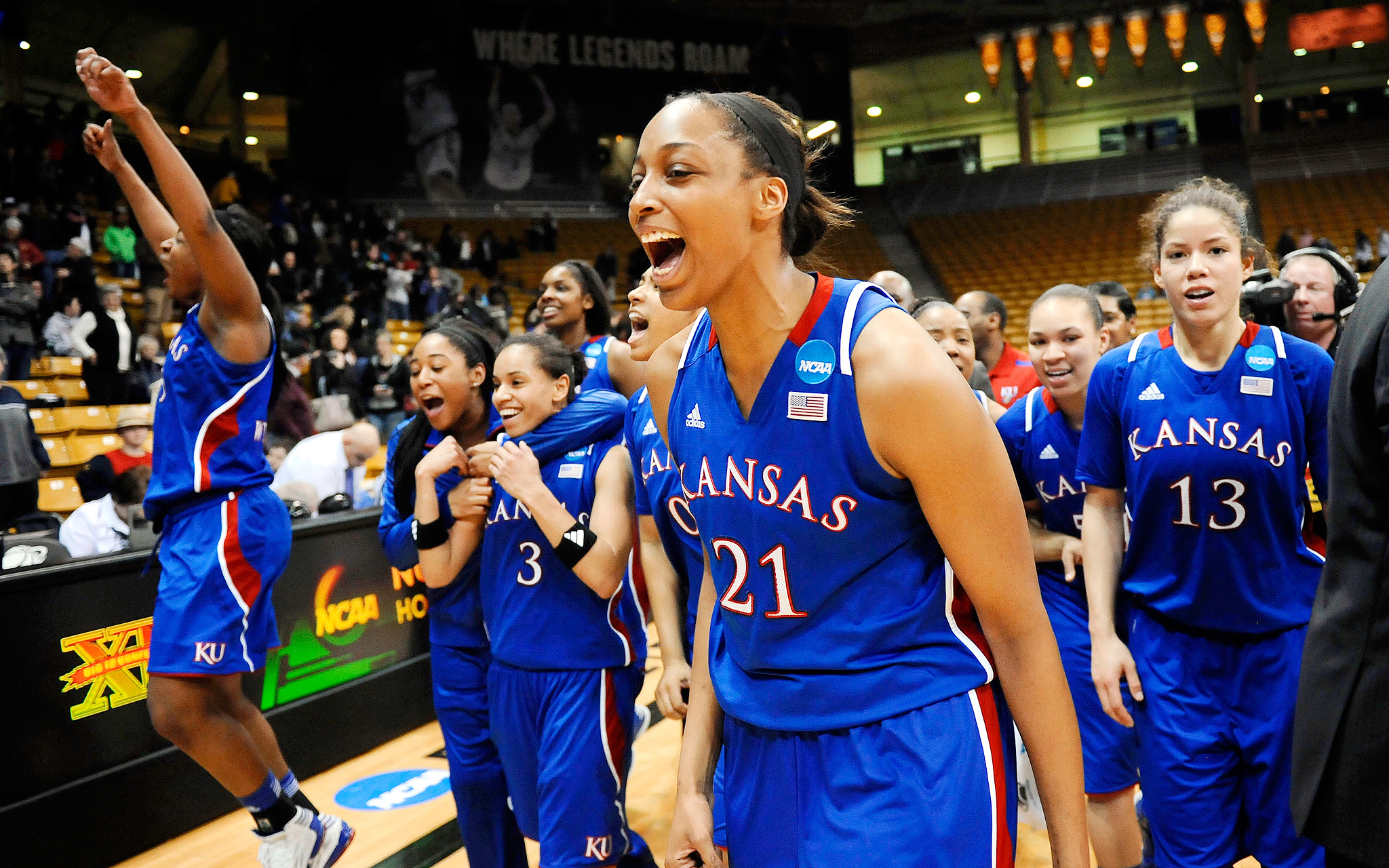 Rock Chalk Ladies