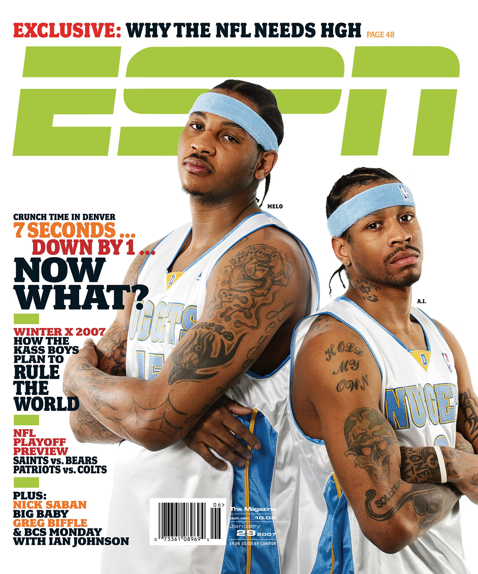 ESPN The Magazine 2007 Covers