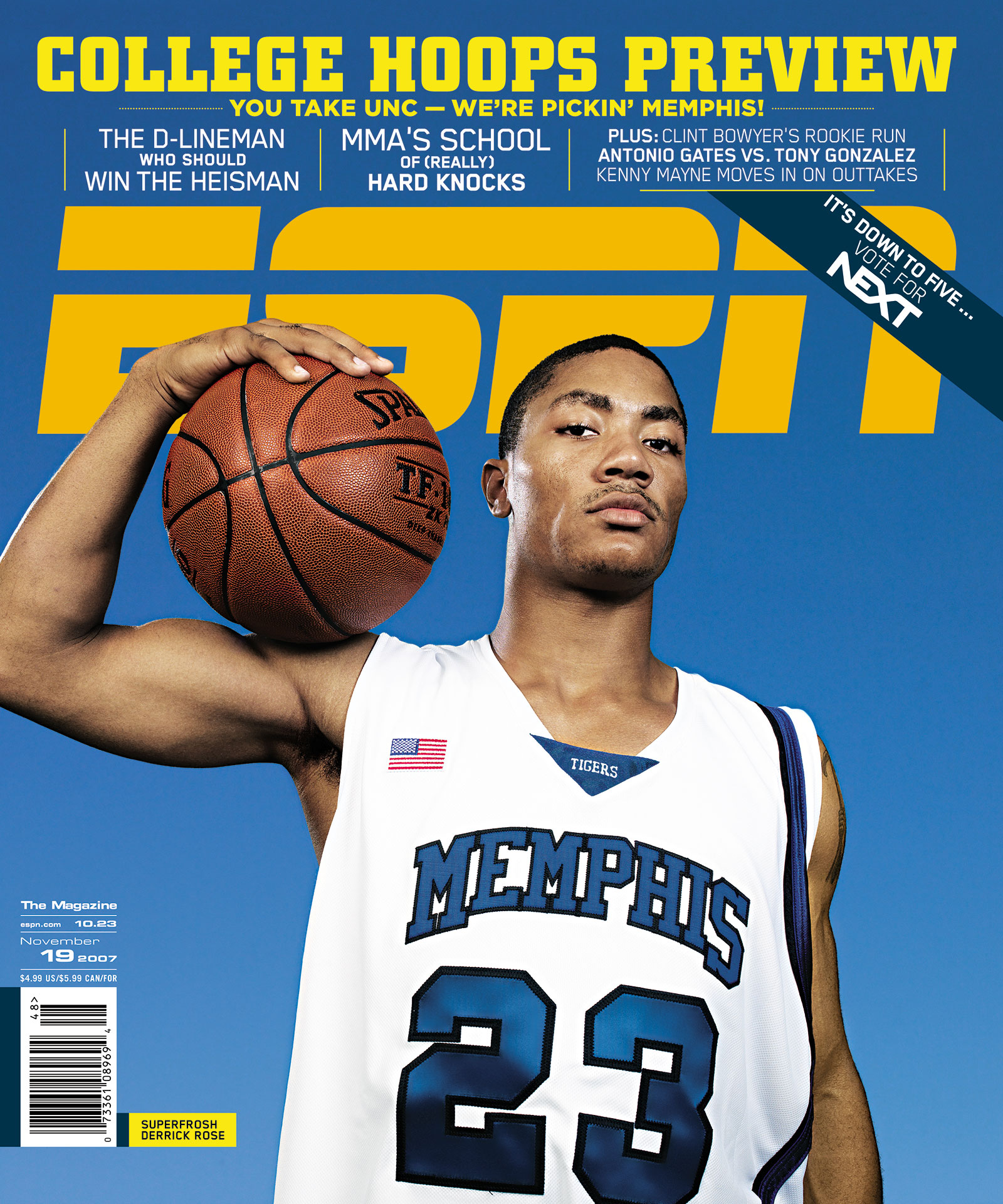 ESPN The Magazine 2007 Covers