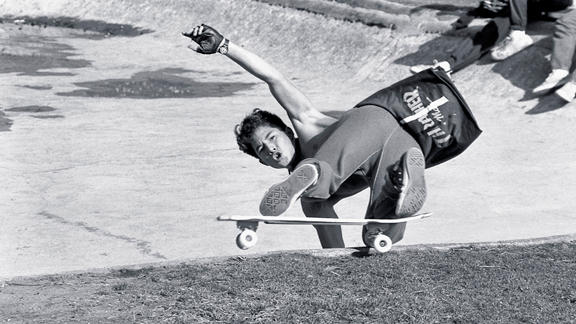 Christian Hosoi styles a look-back in the '80s and makes it into the Skateboarding Hall Of Fames.