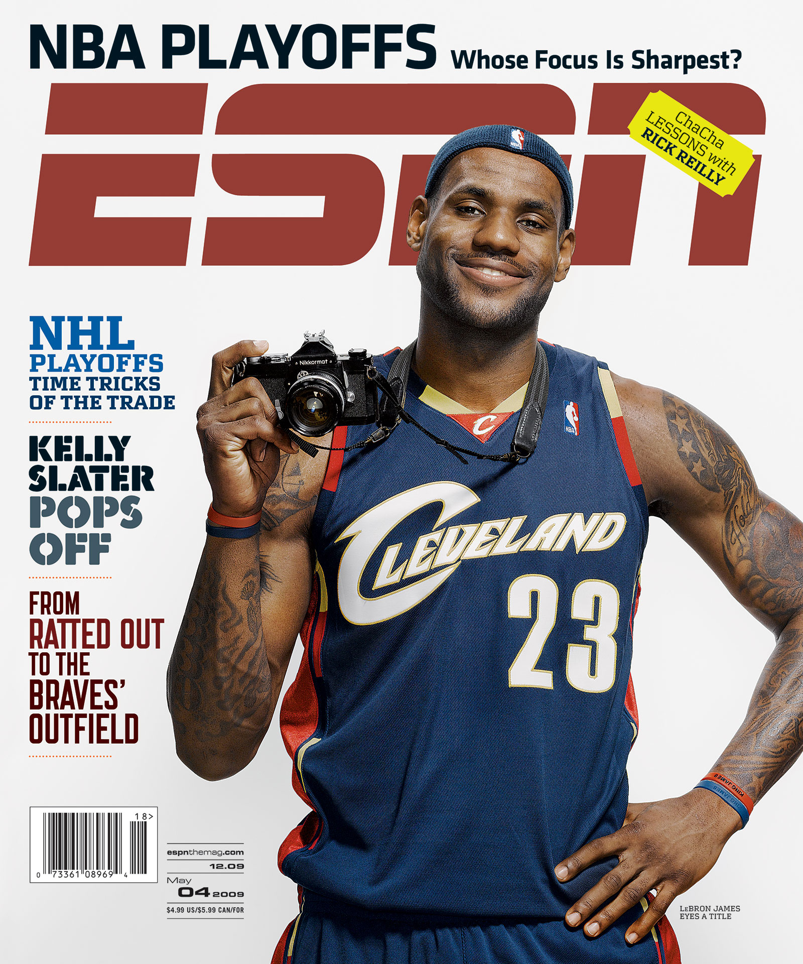 ESPN The Magazine 2009 Covers