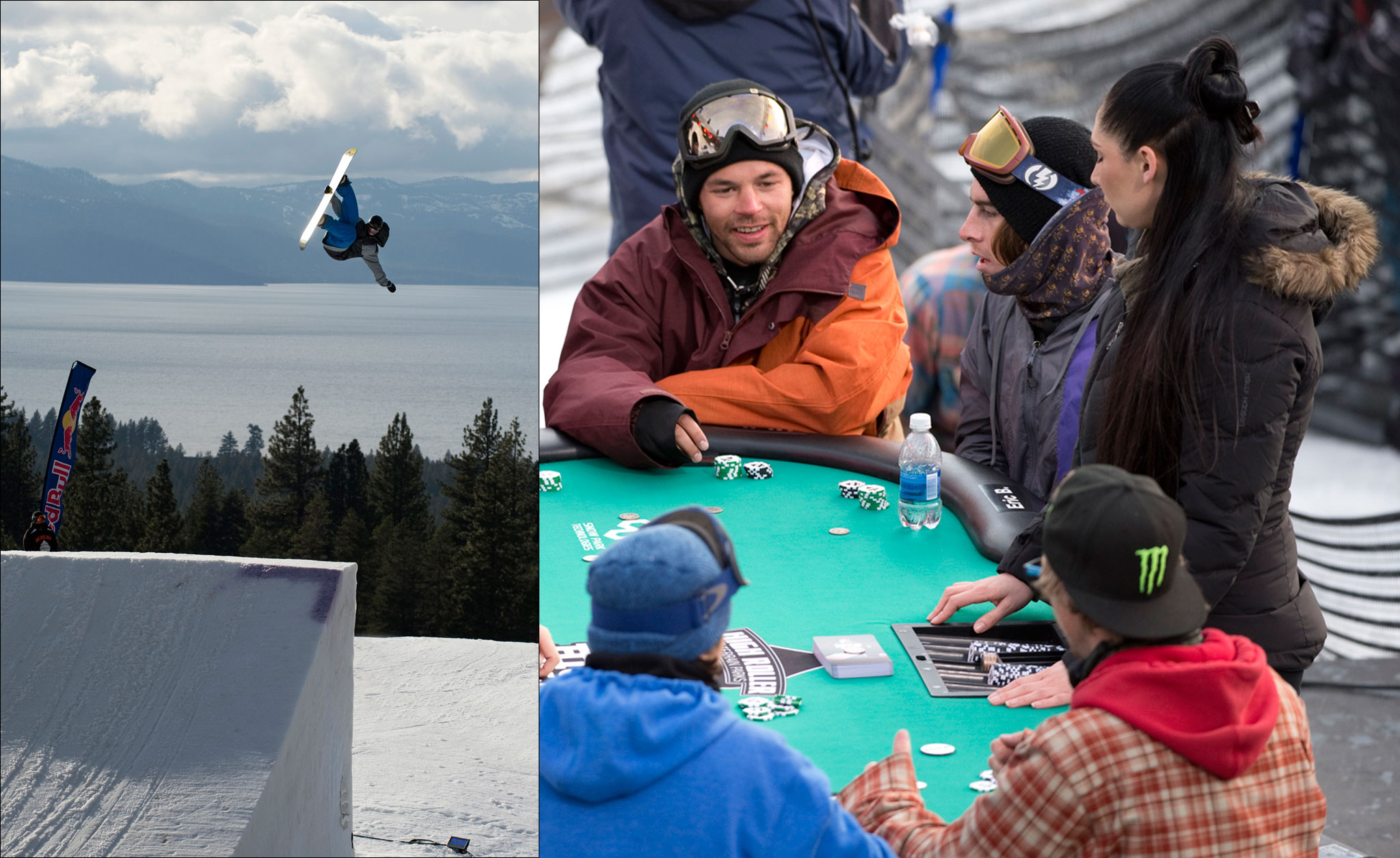 The first-ever High Roller Hold 'Em was held Saturday night at Heavenly Mountain Resort.