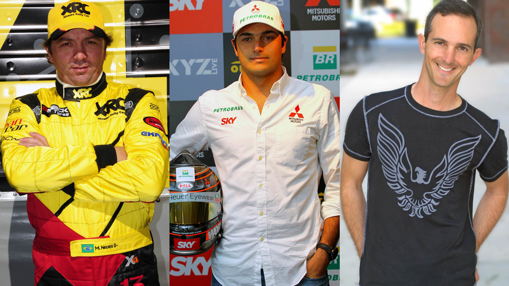 Mauricio Neves, Nelson Piquet Jr., Eduardo Marques Jr.