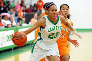 Azura Stevens, the No. 28 prospect in the 2014 class, is staying close to home for college.