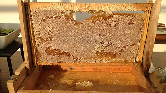 The region is known for honey, and the breakfast buffet at a local high-end hotel has an actual honeycomb to sample.