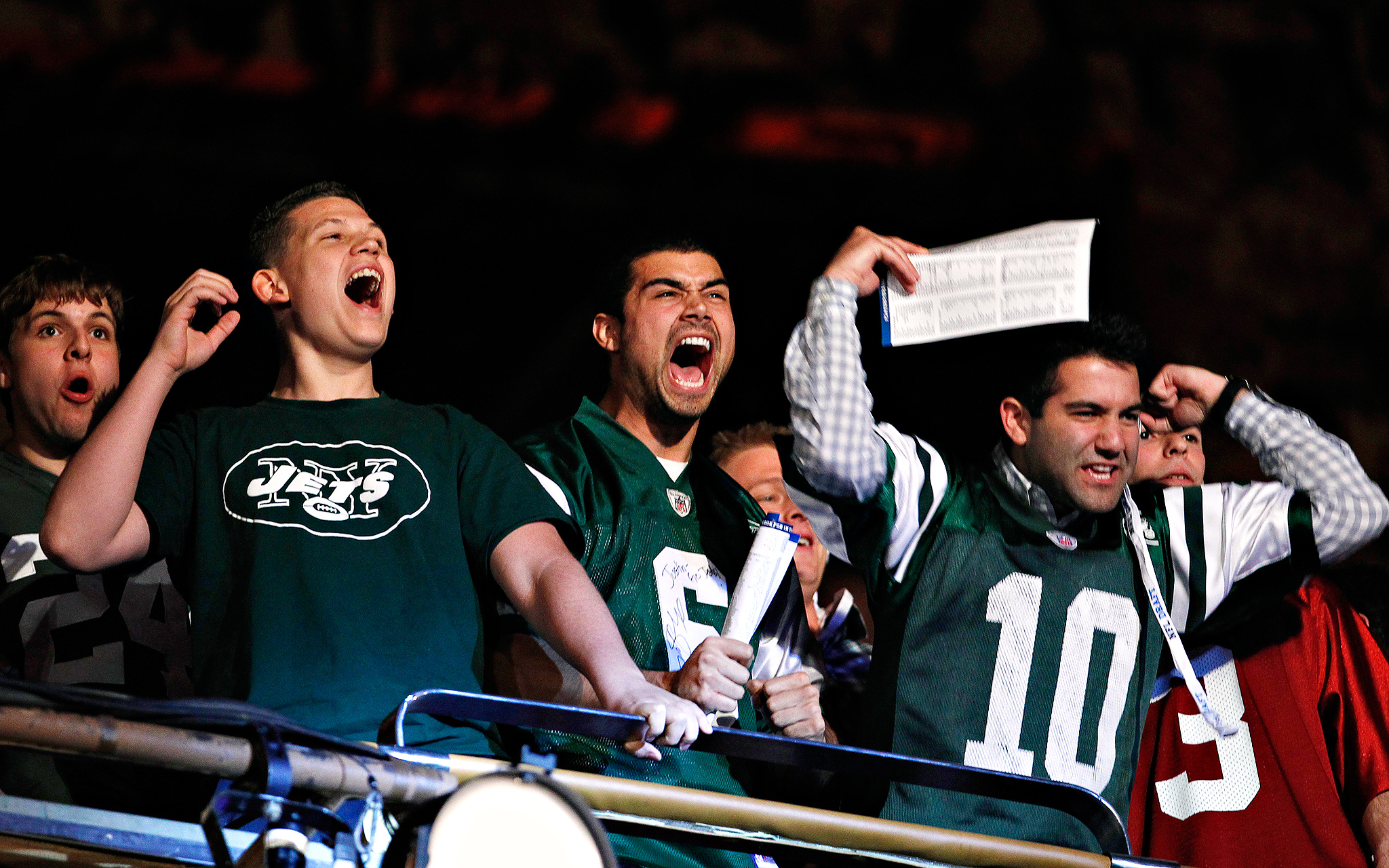 Jets Fans At The Draft
