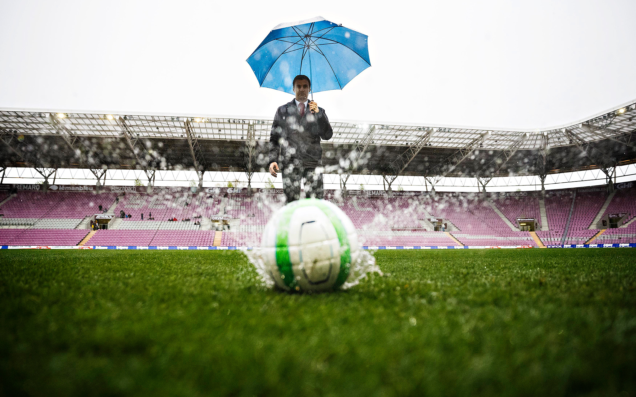 Precip On The Pitch