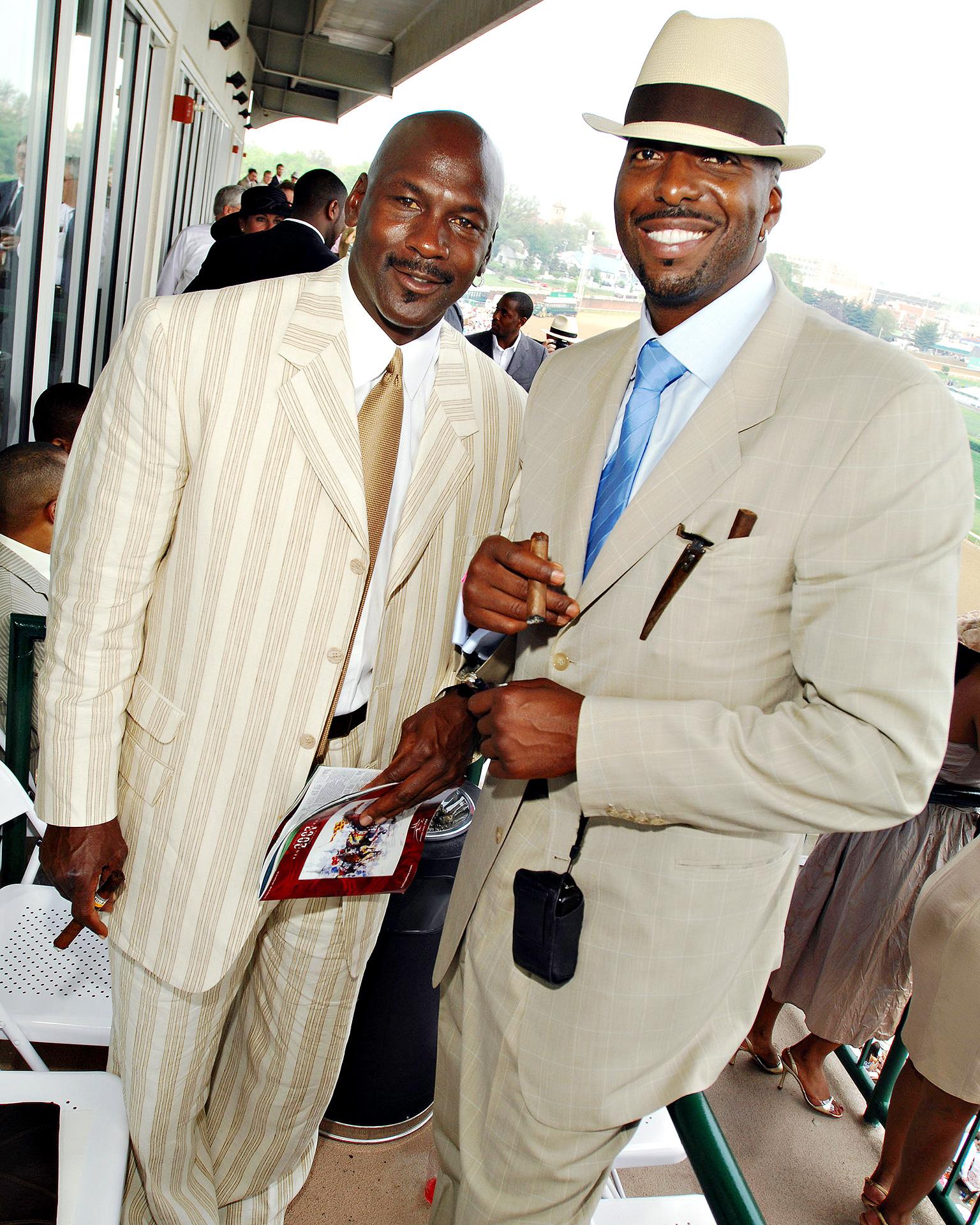 Michael Jordan and John Salley