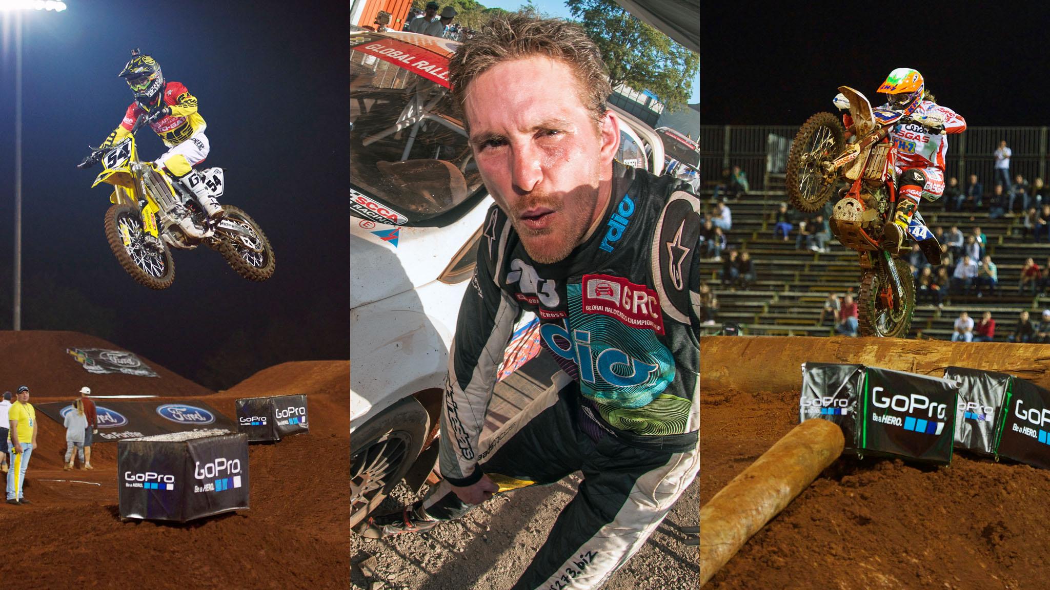 Lance Coury, Scott Speed, Laia Sanz