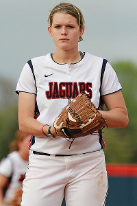 South Alabama's Hannah Campbell led the nation in ERA.
