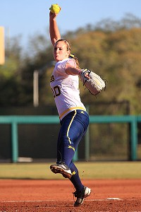 Michigan's hopes this weekend hinge largely on Sara Driesenga's performance in the circle.