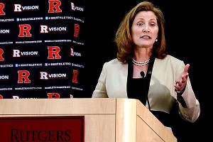 Rutgers' Julie Hermann