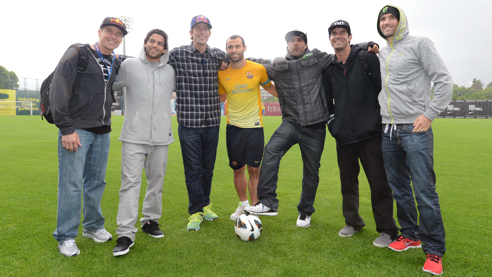 Kevin Robinson, Paul Rodriguez, Travis Pastrana, Javier Mascherano, Bob Burnquist, Jamie Bestwick, Edgar Torronteras