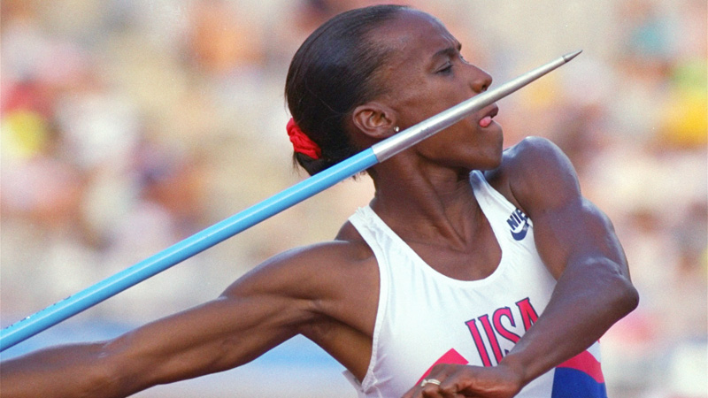 Six-time Olympic medalist Jackie Joyner-Kersee celebrates her 52nd birthday today.