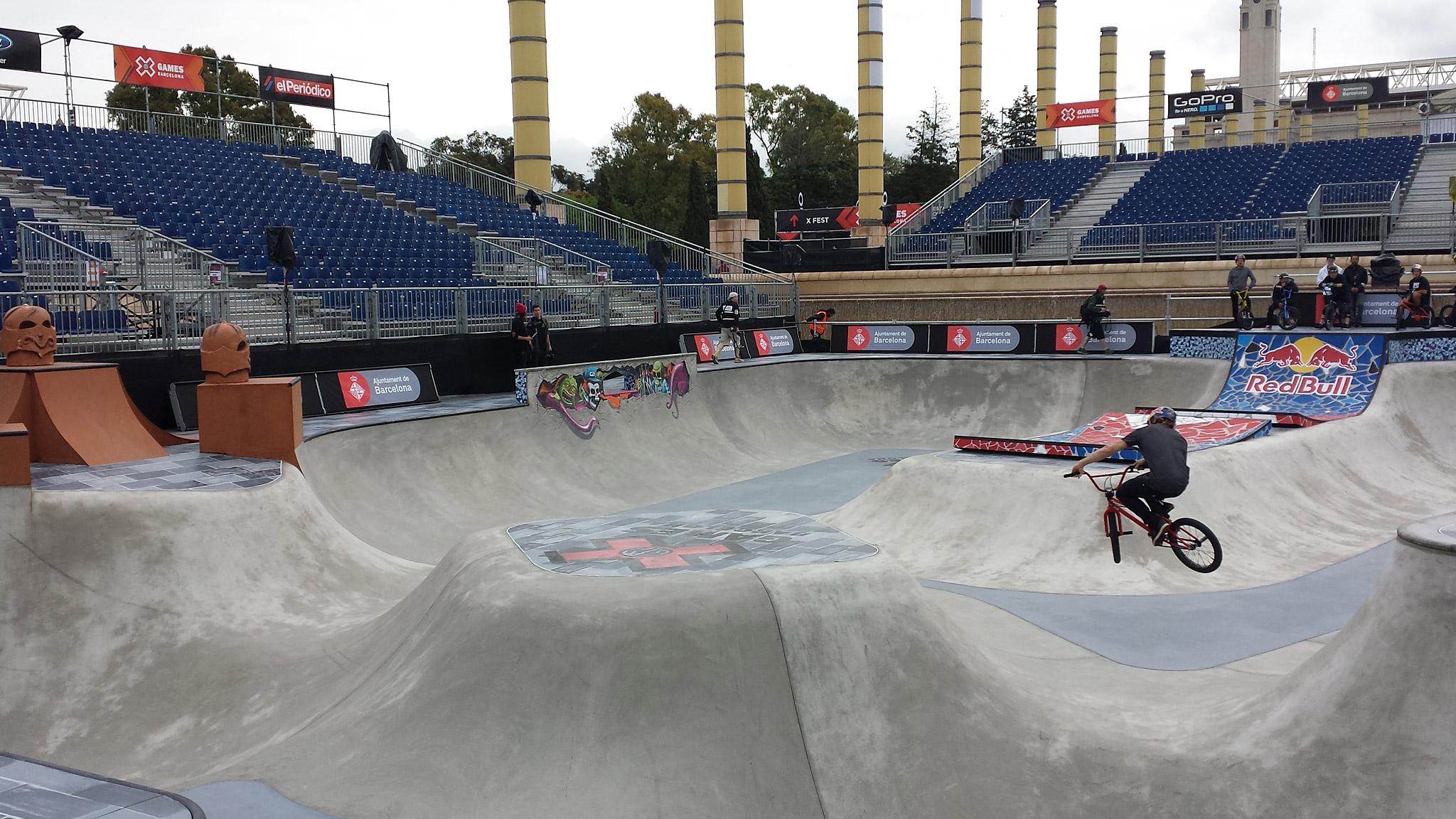 BMX Park Practice