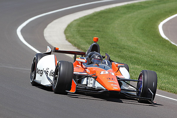 Katherine Legge secured the 33rd and final spot in the Indianapolis 500 field with a qualifying average speed of 223.176 mph.