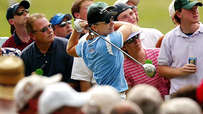 2003 America Colonial Tournament: Sorenstam vs. the guys