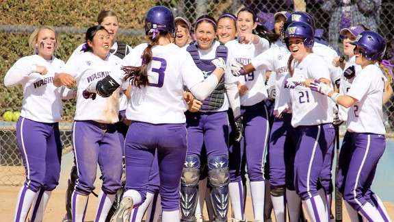 Washington has reason to celebrate. Teams that won Game 1 advanced in 53 of 64 super regionals.