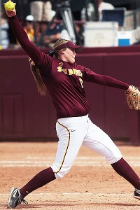 Dallas Escobedo returns to the WCWS, where she pitched Arizona State to the national championship as a freshman two years ago.