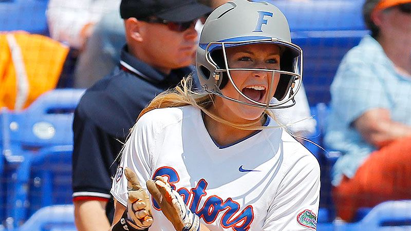 Taylor Schwarz knocked in Florida's lone run in a World Series-clinching 1-0 win over UAB.