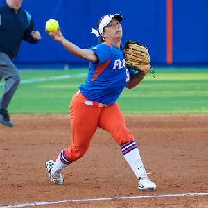 Although she rarely played third base before arriving in Gainesville, Tofft adjusted with ease with her Florida squad.