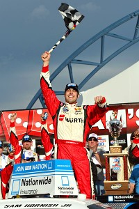 Sam Hornish Jr. has one Nationwide Series victory in 2013br -- in the Sam's Town 300 at Las Vegas on March 9.