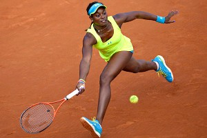 Sloane Stephens isn't satisfied with her results after losing in the fourth round for the second year in a row.