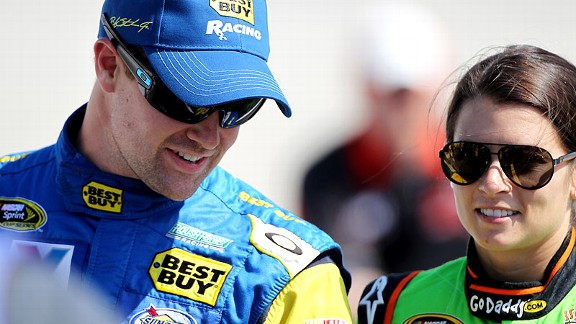 The constant questions about their relationship have not been a distraction for Danica Patrick and Ricky Stenhouse Jr.