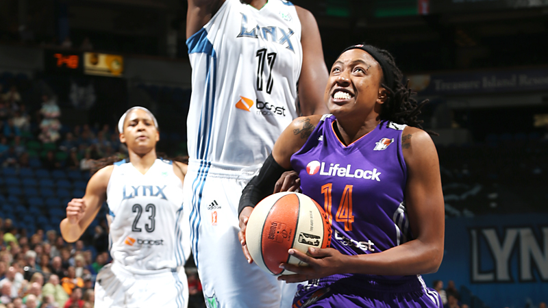 It has been a rocky start for Alexis Hornbuckle and her Phoenix Mercury teammates.