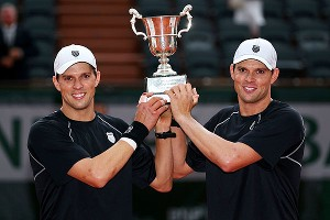 Make that Grand Slam title No. 14 for the Bryan brothers, including their second this year.
