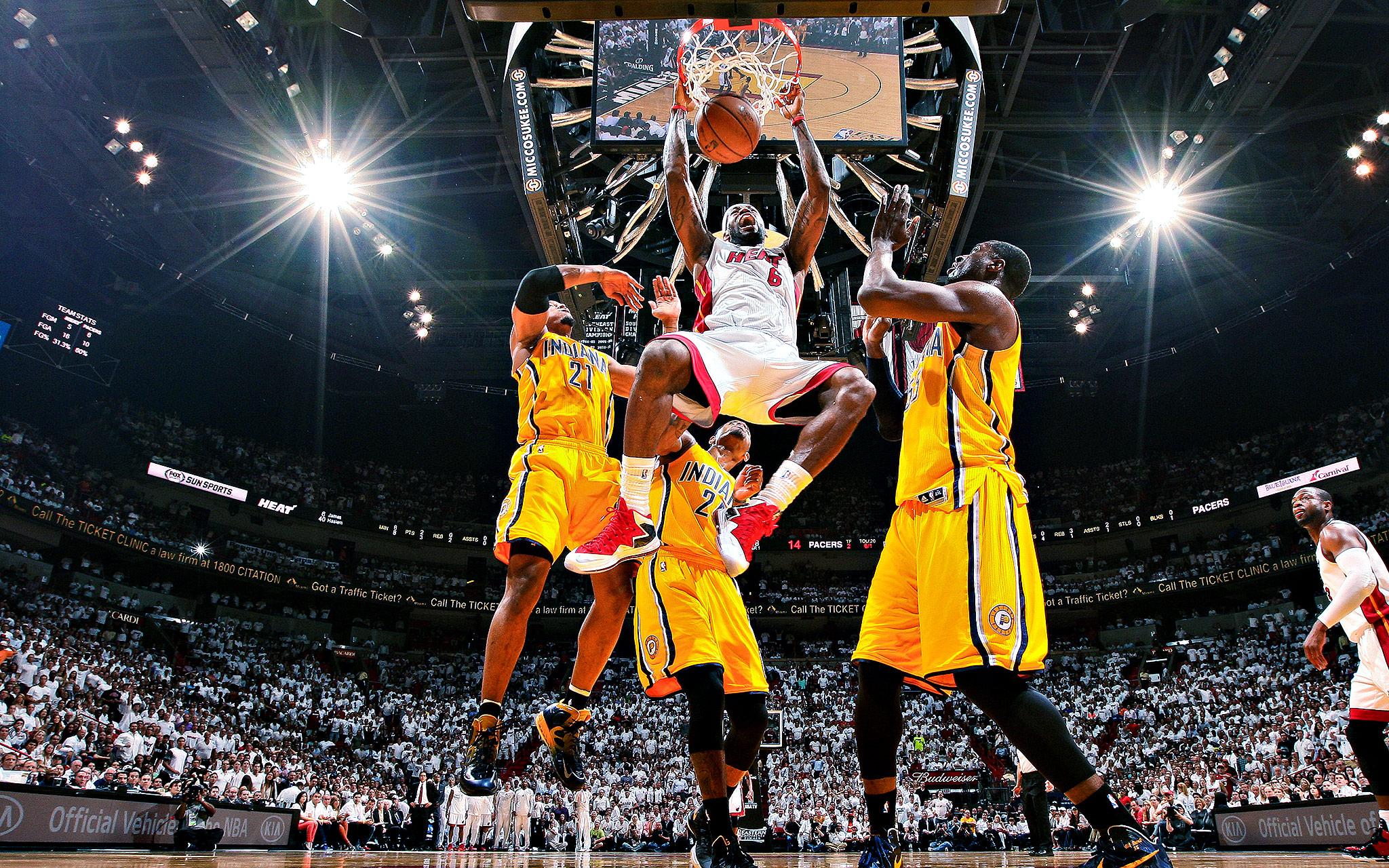 Heat vs. Pacers