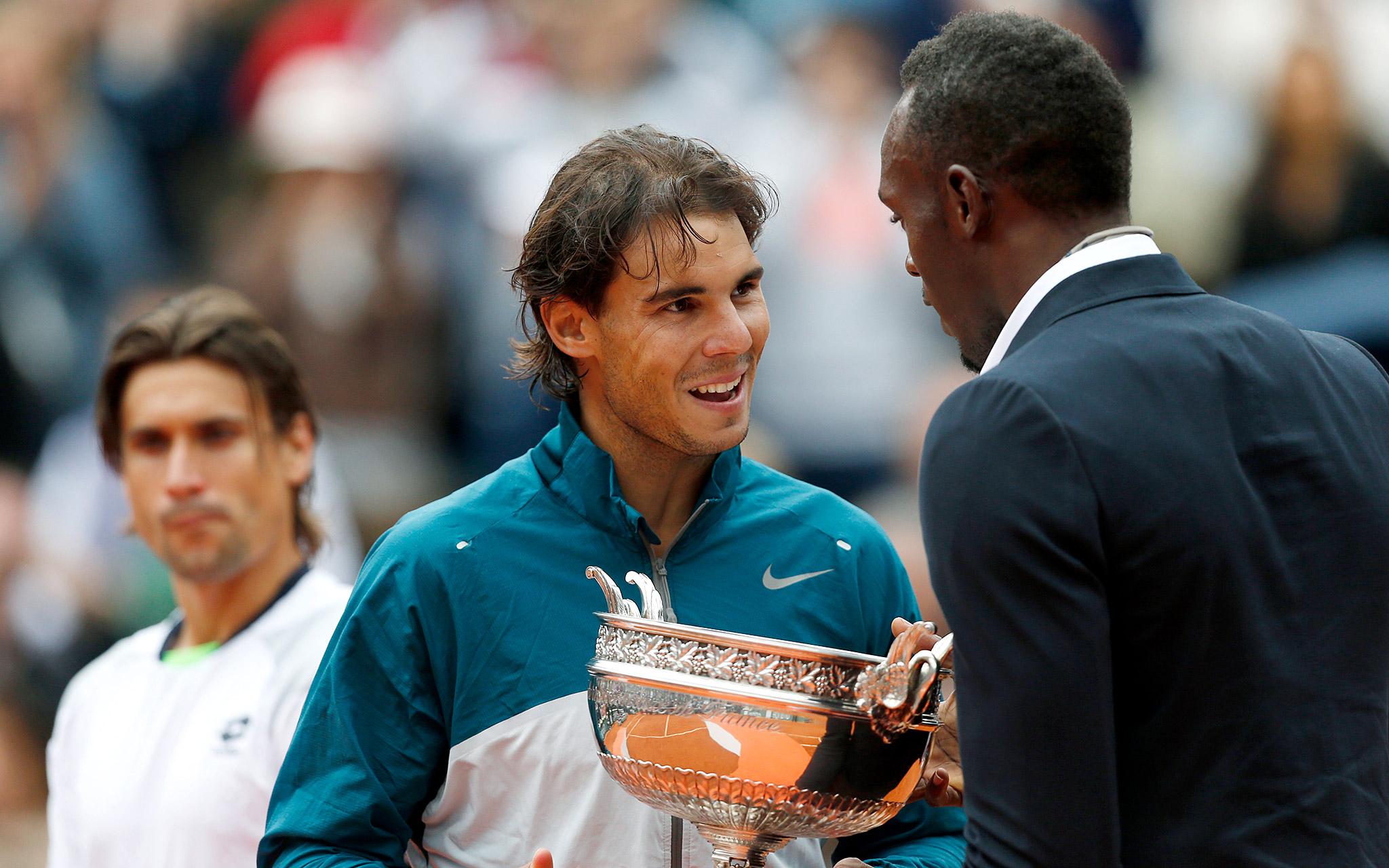 Nadal meets Bolt