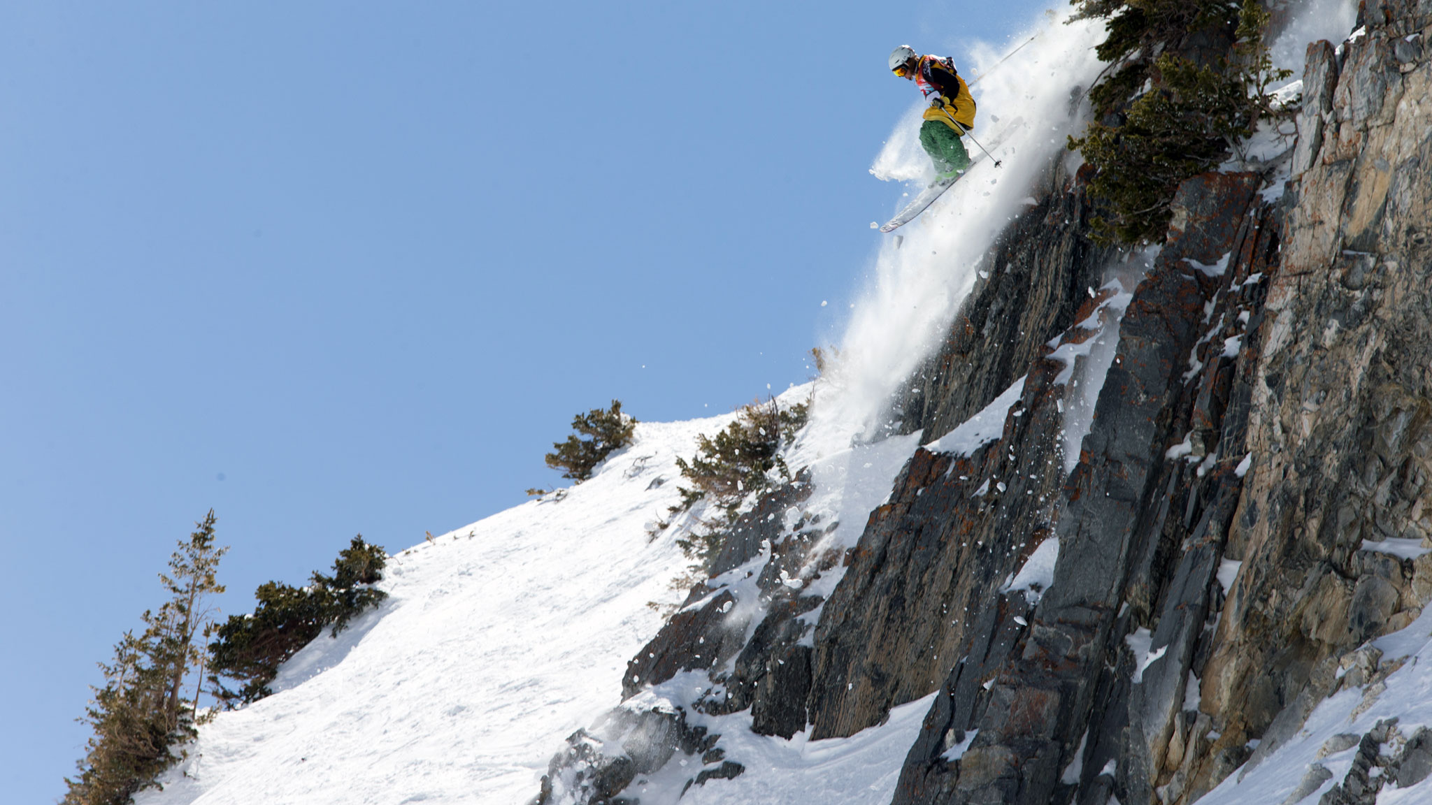Patrick Baskins during a qualifying stop last winter. Baskins earned a spot on this year's FWT.