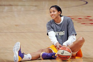As a veteran who's been through adversity, Candace Parker appreciates the postseason more than she did when she was a rookie.