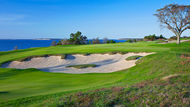 With its stunning vistas of Great Peconic Bay, Sebonack Golf Club in Southampton, N.Y., made for an extraordinarily beautiful but demanding course for the U.S. Womens Open.